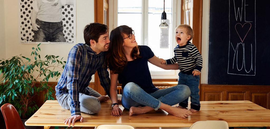 Jennifer, Samuel et Eliott, La Chaux-de-Fonds