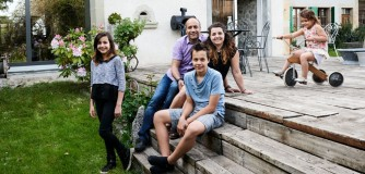 Christina et famille, Pailly